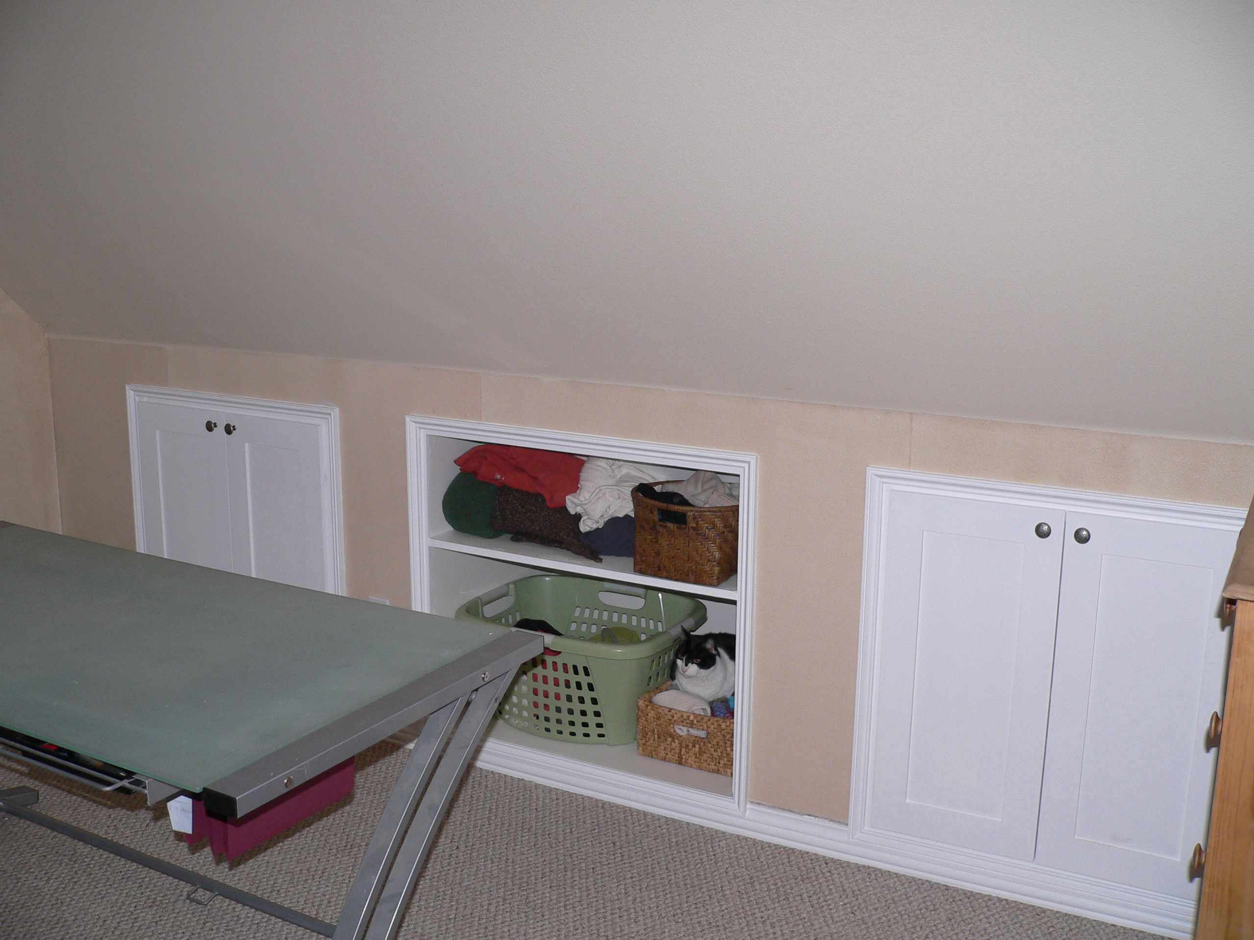shelving ideas for attic - Turning Unused Attic Space into Usable Storage