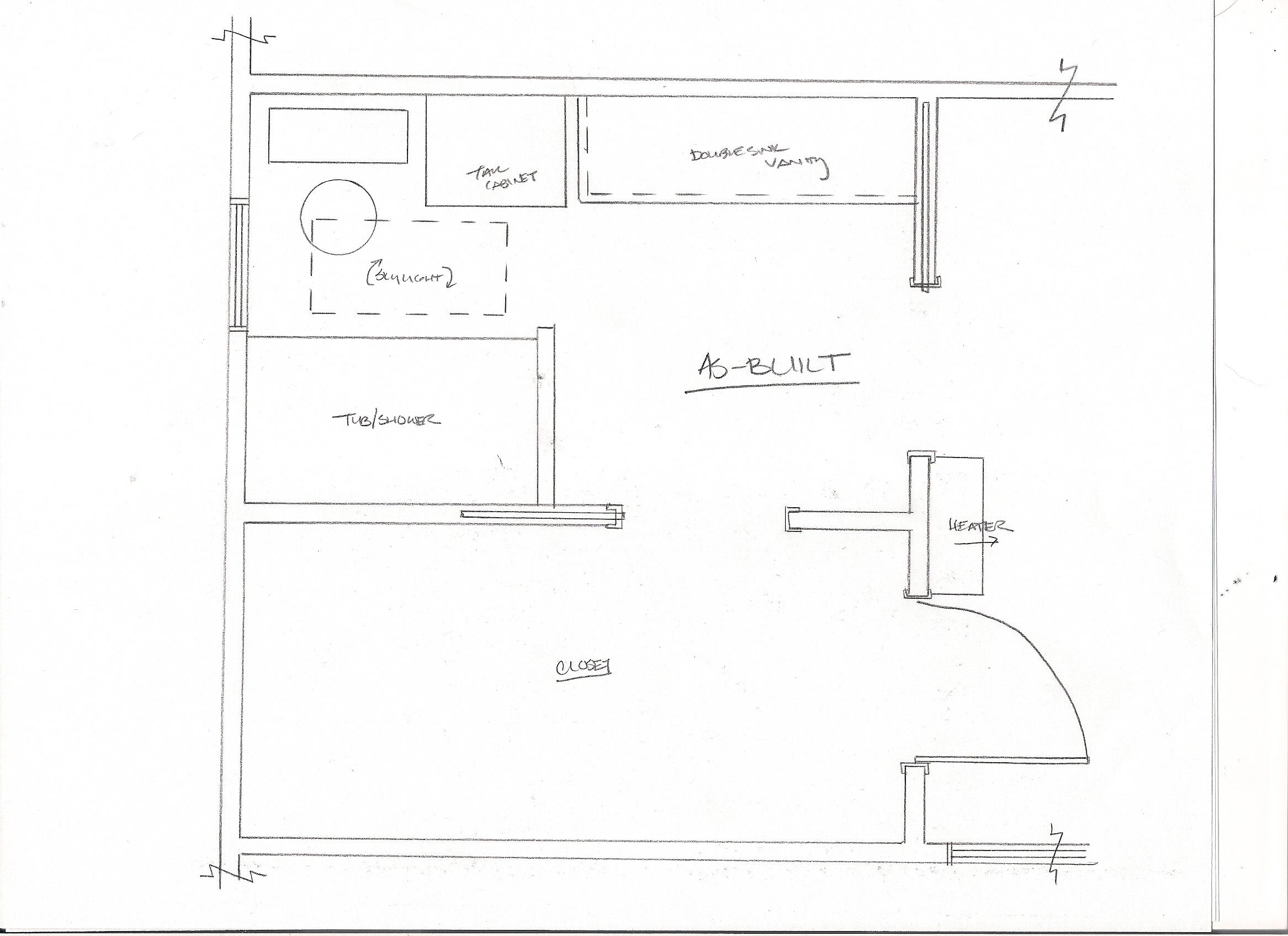 Asian Bathroom As Built