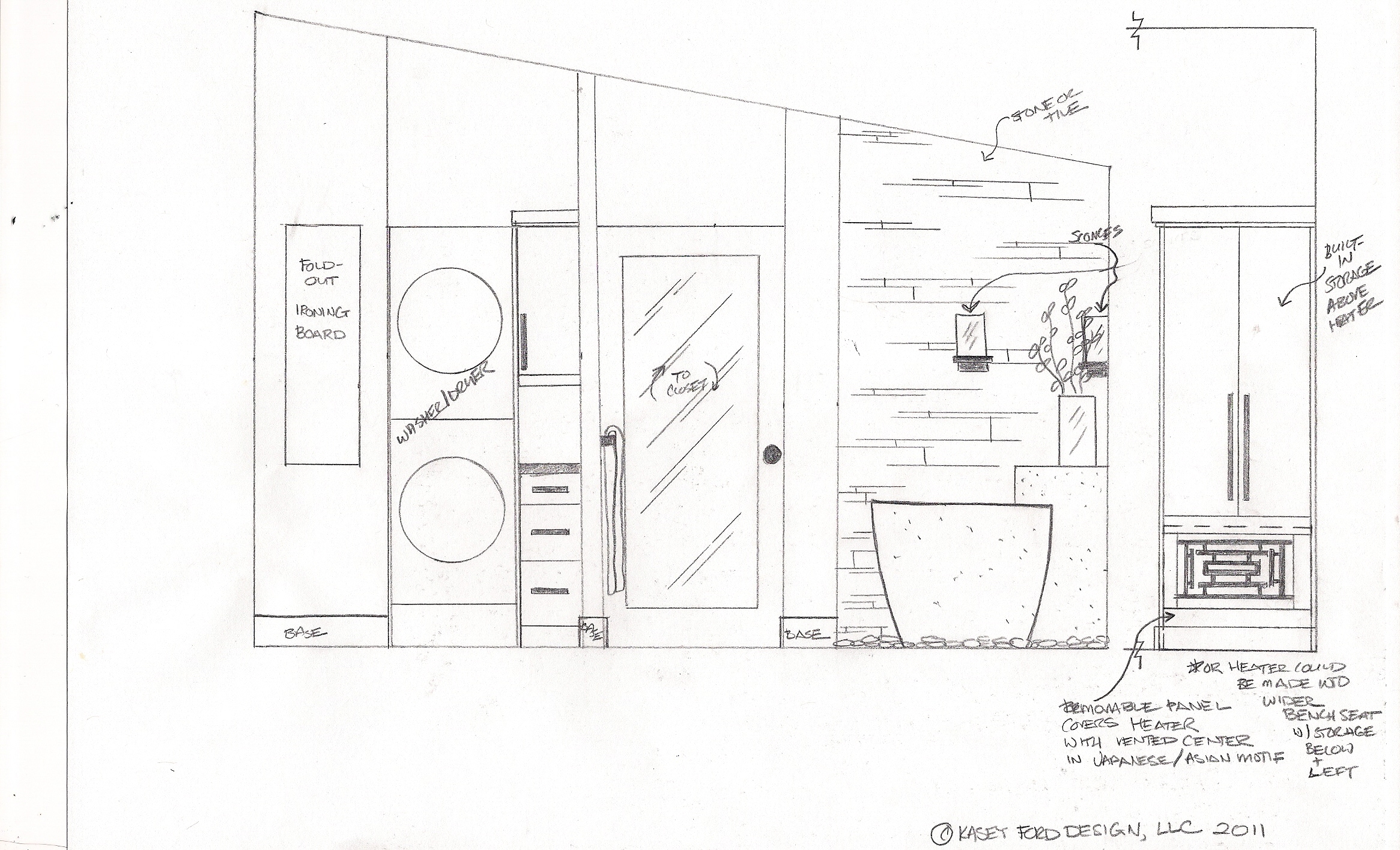 Designing an asian inspired bathroom remodel beauty for Bathroom designs drawing